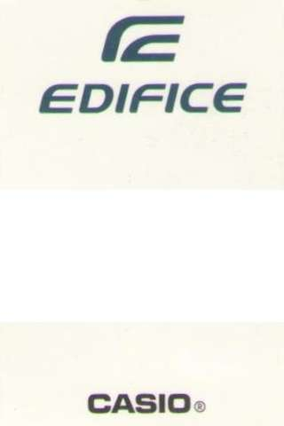 Edifice by Casio